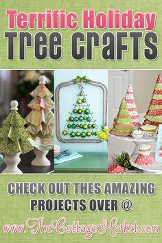 23 Terrific Holiday Tree Crafts