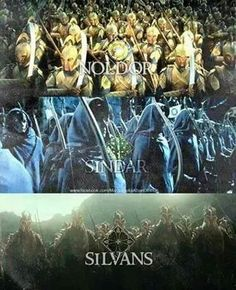The elves of Middle-Earth