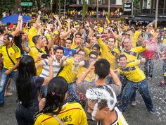 Watching the 2014 World Cup in Parque Lleras (Photos)  20140628-IMG_4652.jpg by rtwdave, via Flickr