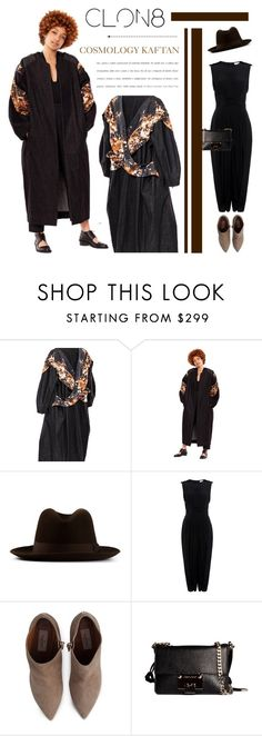 """""""CLON8"""" by cly88 ❤ liked on Polyvore featuring Hermès, TIBI, Valentino and Jimmy Choo"""
