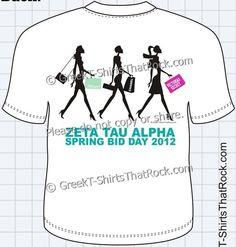 ZTA Spring Bid Day T-Shirt