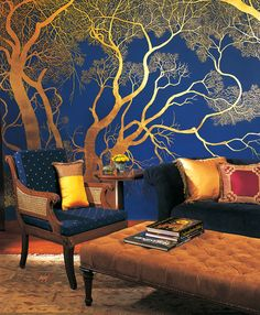 Striking decor at Oberoi Vanyavilas