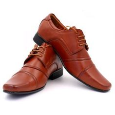 – Mens formal lace-up shoes – Tan. Lace Up Shoes, Dress Shoes, Derby, Men Dress, Oxford Shoes, Mens Fashion, Couture, Formal, Moda Masculina