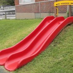 4' Double Hill Slide Package