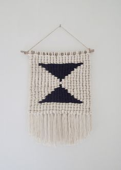 macramé weaving by Sally England, via Behance