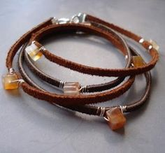 nice How To Make Leather Jewelry Tutorials - The Beading Gem's Journal...