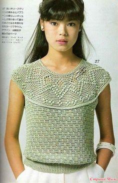 Первая моделька - эта работа Ирочки Santana. Спасибо ей!  Салфетка, пригодная для кокетки: