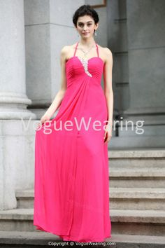 Brush/ Sweep Train Chiffon Silk-like Satin Bridesmaid Dresses 2014 -Bridesmaid Dresses