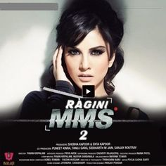 Ragini MMS 2 is an upcoming thriller and horror bollywood movie. Sunny Leone is starring in Ragini MMS Ragini MMS 2 is directed by Bhushan Patel.The movie is produced by Ekta Kapoor. It is a sequel of Ragini MMS with loads of sensuality. Karaoke Tracks, Karaoke Songs, Hindi Movies Online, Movies To Watch Online, Netflix, Bollywood, Hd Trailers