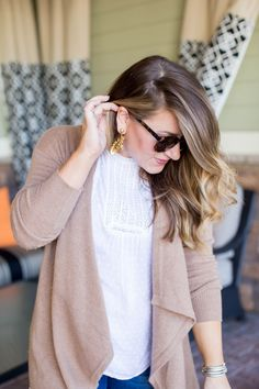 Long Line Cardigan for Fall