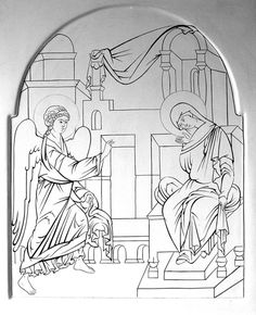 Прориси / Фотоальбомы / Слово - изографам Byzantine Icons, Byzantine Art, Greek Icons, Church Icon, Paint Icon, Orthodox Icons, Painting Process, Sacred Art, Christian Art