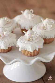 Tea Party Cupcakes | Sweetopia