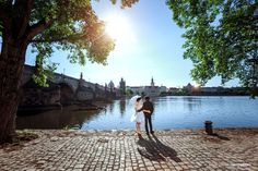 Prague wedding photographer with years of experiences. Professional and artistic wedding, elopement and pre-wedding photography in Prague and Europe. Prague, Wedding Photos, Wedding Photography, Beach, Outdoor, Marriage Pictures, Wedding Shot, Outdoors, Outdoor Games
