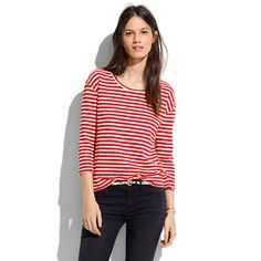Pencil-Stripe Pullover from Madewell.  Simple but perfect.