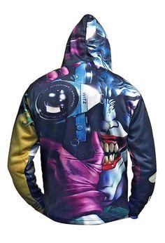 fb0bd4d21 The Joker Hoddie - Heath Ledger #CanadianLeather #Hoodie Heath Ledger,  Motorcycle Jacket,