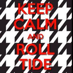 Roll tide roll(: