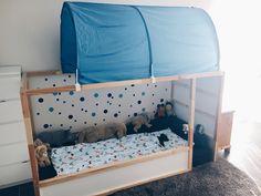 Bodenbett : eine gemütlich Schlafhöhle