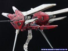 Rgray-1 de Kotobukiya, un kit au 1/144 représentant le vaisseau vedette du jeu Raystorm de Taito