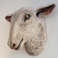 tête de mouton modelage céramique