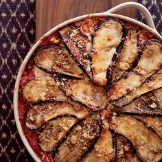Eggplant Parmesan with Crisp Bread Crumb Topping // More Great Eggplant Recipes: http://www.foodandwine.com/slideshows/eggplant #foodandwine