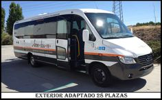 Microbus 28 plazas Adaptado