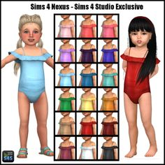 Clara look! For the pool.  Sims 4 Nexus