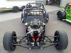 LS Engined anyone? Weird Cars, Cool Cars, Kart Cross, Lotus 7, Tube Chassis, Racing Car Design, Suspension Design, Cantilever Suspension, Sand Rail
