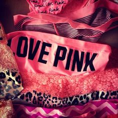 Victoria's Secret PINK Panties! I am addicted and have over 75 pairs! :D