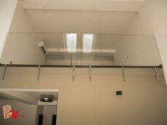 balustrada din sticla securizata Track Lighting, Ceiling Lights, Home Decor, Interiors, Decoration Home, Room Decor, Outdoor Ceiling Lights, Home Interior Design, Ceiling Fixtures