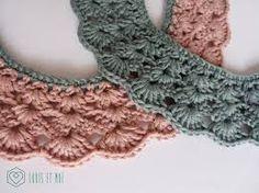 Resultado de imagen para cuello peter pan crochet