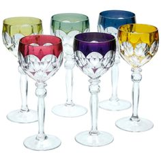 All Things Crystal, Crystal Place, Clear Crystal, White Wine Glasses, Crystal Wine Glasses, Baccarat Crystal, Crystal Glassware, Spirit Glasses, Vintage Tableware