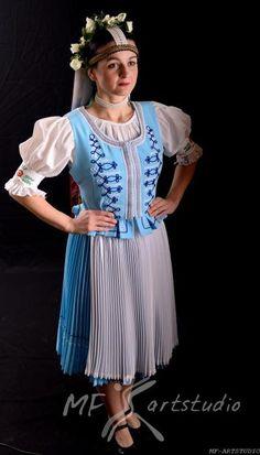 Slovakia, šarišský kroj Saris, Art Studios, German, Polish, Culture, Embroidery, Traditional, Pattern, Dresses