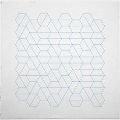 #329 Hexagon fields – A new minimal geometric composition each day