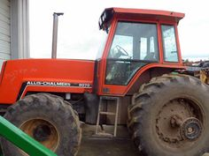 Allis Chalmers 8070 tractor salvaged for used parts. All States Ag Parts 877-530-4430.