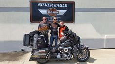 With the owners of Silver Eagle