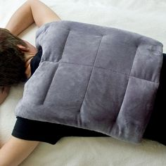 Microwave Heating Pad- Herbal Concepts Back Wrap w/ neck and shoulders..heavenly laid across a congested chest!