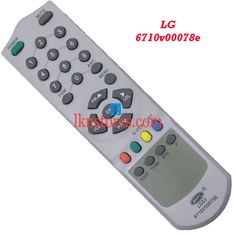 Buy remote suitable for LG Tv Model: 6710V00078E at lowest price at LKNstores.com. Online's Prestigious buyers store.
