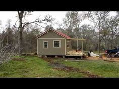 Derksen Side Utility Portable Building with Dormer by Enterprise Center - YouTube