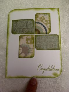Made with CTMH Avonlea paper and casual expression stamps