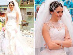 Moda de Novela: Figurino de noiva