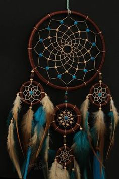 How Do Dream Catchers Work Sizes D19Cm 8Cm 5Cm Inches 75 31 2  The Length 61Cm
