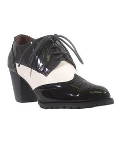 Take a look at this Black Multi Lux Oxford Bootie on zulily today!