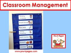 Classroom management ideas for your preschool, pre-k, or kindergarten classroom.