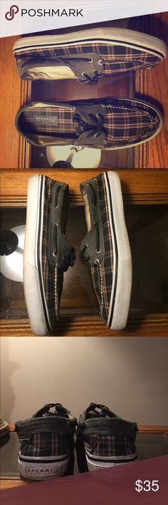Men's Sperry Top-Siders Plaid Boat Shoe - 11.5 Men's Plaid Sperry Top-Sider. Size 11.5. Sperry Top-Sider Shoes Boat Shoes