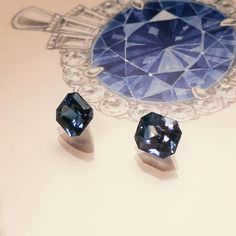 Naveya & Sloane, made to order in Auckland, New Zealand. Naveya And Sloane, Fine Jewelry, Jewelry Making, Kind Of Blue, Gemstone Engagement Rings, Custom Jewelry Design, Amethyst, Sapphire, Diamond Gemstone
