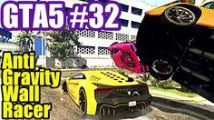 GTA 5 Online #32 Anti Gavity Wall Racer (Grand Theft Auto V PS4)