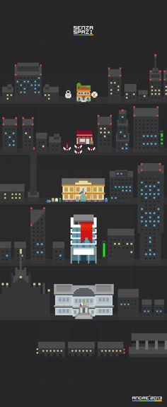 City 8-bit | senzaspazi