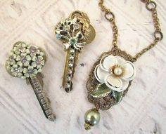 Ecco come riciclare le vecchie chiavi! 20 idee creative... Riciclare le vecchie chiavi. In questo post abbiamo selezionato per voi 20idee creative per riutilizzare vostre vecchie chiavi! Bellissime idee per decorare casa... Lasciatevi ispirare! Buona...