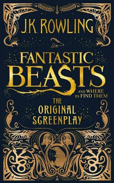 Fantastic Beasts and Where to Find Them Screenplay. All things Harry Potter have made a comeback! Pair this book with the movie (when it becomes available) or with some other Harry Potter items to round out your auction baskets. Objet Harry Potter, Classe Harry Potter, Harry Potter World, Citation Harry Potter, Joanne K Rowling, Jk Rowling Fantastic Beasts, Fantastic Beasts Book, Fantastic Beasts And Where To Find Them Book, Film Fantastic