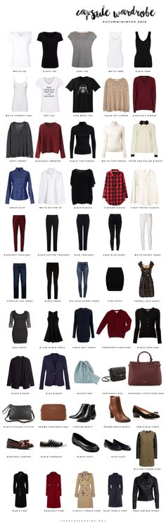 The Paper and Ink: capsule wardrobe